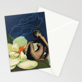 Three's a Crowd  Stationery Cards