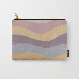 Abstract Waves of Color Carry-All Pouch