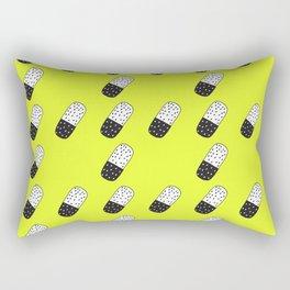 Take a neon pill Rectangular Pillow