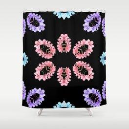 Kaleido Widflowers Shower Curtain