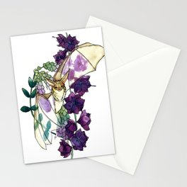 Birthday Floral Bat Stationery Cards