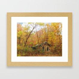 Seasons Pass Framed Art Print