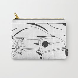 Unbuttoned Carry-All Pouch