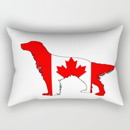 Canada English Setter Rectangular Pillow