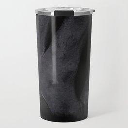 Self-portrait n.3 - hand Travel Mug