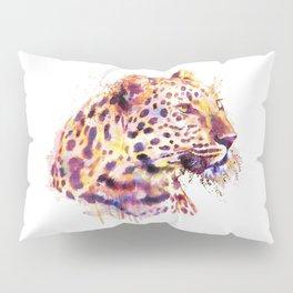Leopard Head Pillow Sham