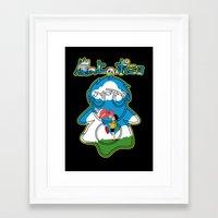 ponyo Framed Art Prints featuring Ponyo by CarloJ1956
