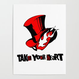 P5 - TAKE YOUR HEART Poster