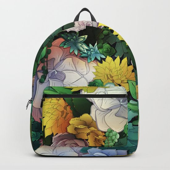 Succulent World Backpack