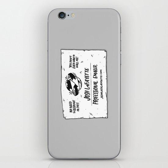 Fake Business Card iPhone & iPod Skin
