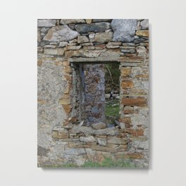 In Search of the Past Metal Print