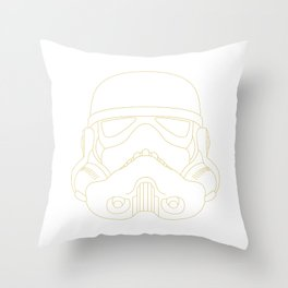 The trooper Throw Pillow