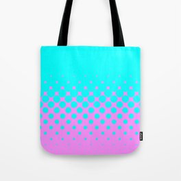 Blue To Pink Tote Bag