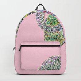 Blushing Aries Ram In Bloom Backpack