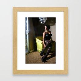 Its hard being me  Framed Art Print