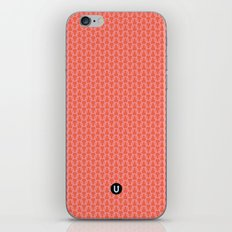 U16 - knit pink iPhone & iPod Skin