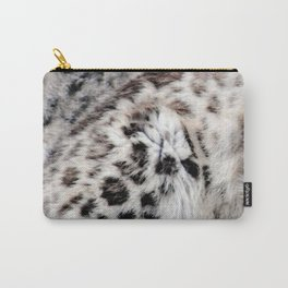 Snow Leopard Carry-All Pouch