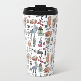 Cats Life Travel Mug