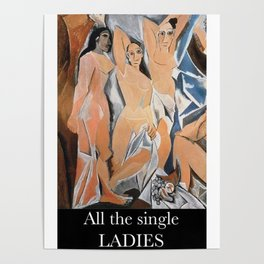 Avignon single ladies Poster