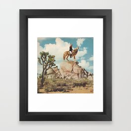 COYOTE Framed Art Print