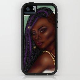 Purple Locs iPhone Case