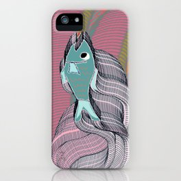 The eternal quest for happiness iPhone Case