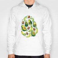 avocado Hoodies featuring Avocado Avocado by LiLaiRa