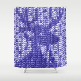 Knitting On Paper Shower Curtain