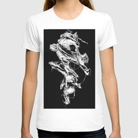 in the flesh T-shirts featuring flesh character  by Andrew Tremblay (Unknown Planet / ILL) a