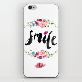Smile. iPhone Skin