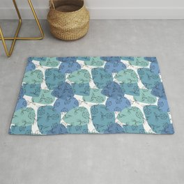 Bacteriophages - Blues Rug