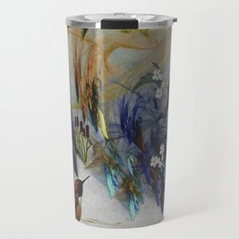 Rufous Hummingbirds Travel Mug