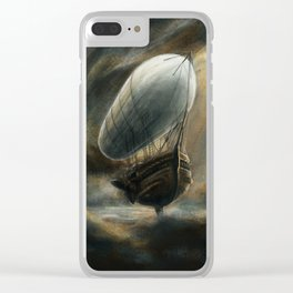 Flight to Neverland Clear iPhone Case