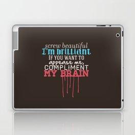 Compliment my brain Laptop & iPad Skin