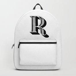 Letter R Backpack