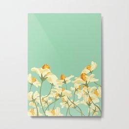 Floral Woes Metal Print