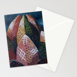 Lotus Temple by Lu Stationery Cards