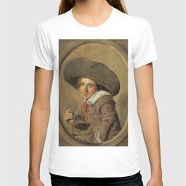 """Frans Hals """"A Young Man in a Large Hat"""" T-shirt"""