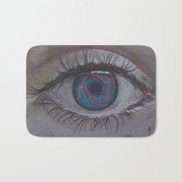 Eye 1# Rose Bath Mat