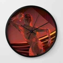 Human Trafficking: Bondage without Borders Wall Clock