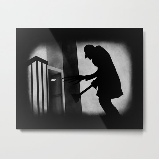 Die Toilette (in German) Metal Print