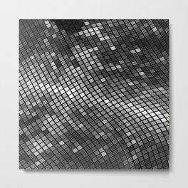 Silver Metal Print