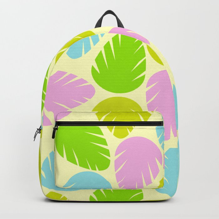 Colorful spring leaves Backpack