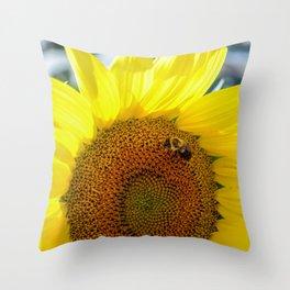 Maria's Sunflower Throw Pillow