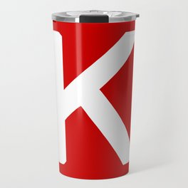 Keras: The Python Deep Learning library Travel Mug