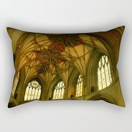 Tewkesbury Abbey Rectangular Pillow