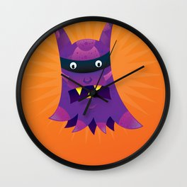 Prince the Purple Passion Monster. Wall Clock