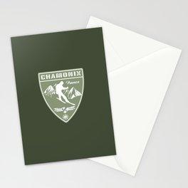 Ski Chamonix France Stationery Cards