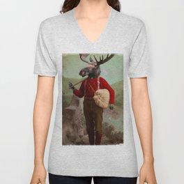 Lumberjack Marvin Moose Unisex V-Neck