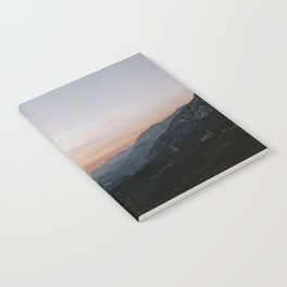 Mountain Sunset Notebook